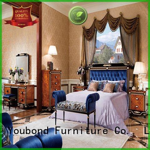 Hot oak bedroom furniture beech bedroom solid Senbetter Brand