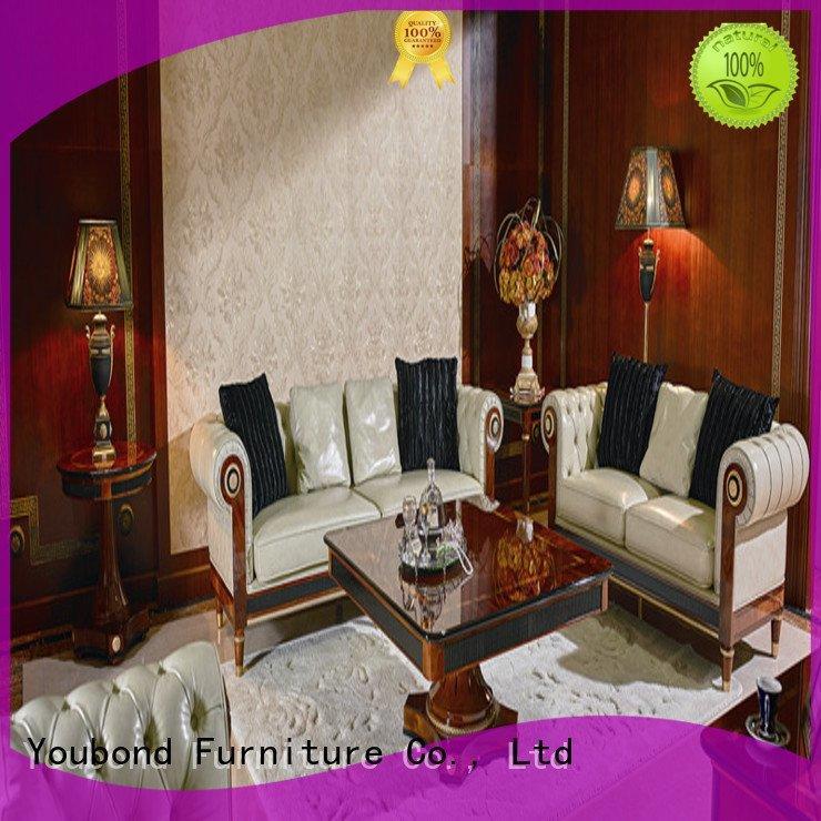 Senbetter Brand italian sofa style classic living room furniture carving