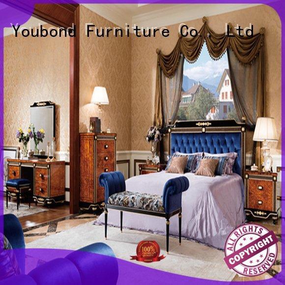 Senbetter wood solid mahogany oak bedroom furniture veneer