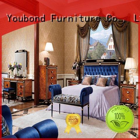 Quality oak bedroom furniture Senbetter Brand design solid wood bedroom furniture