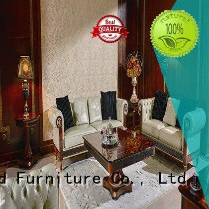 Senbetter Brand carving classic design white living room furniture