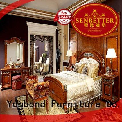 Senbetter solid wood bedroom furniture beech simple solid 0068
