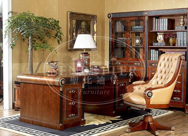 louis office table with office writing desk for company-2