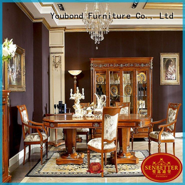dinette sets solid room classic dining room furniture Senbetter Brand