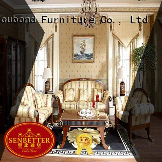 Wholesale delicate luxury classic living room furniture Senbetter Brand