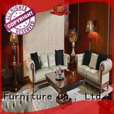 Senbetter Brand classic white living room furniture palace flower