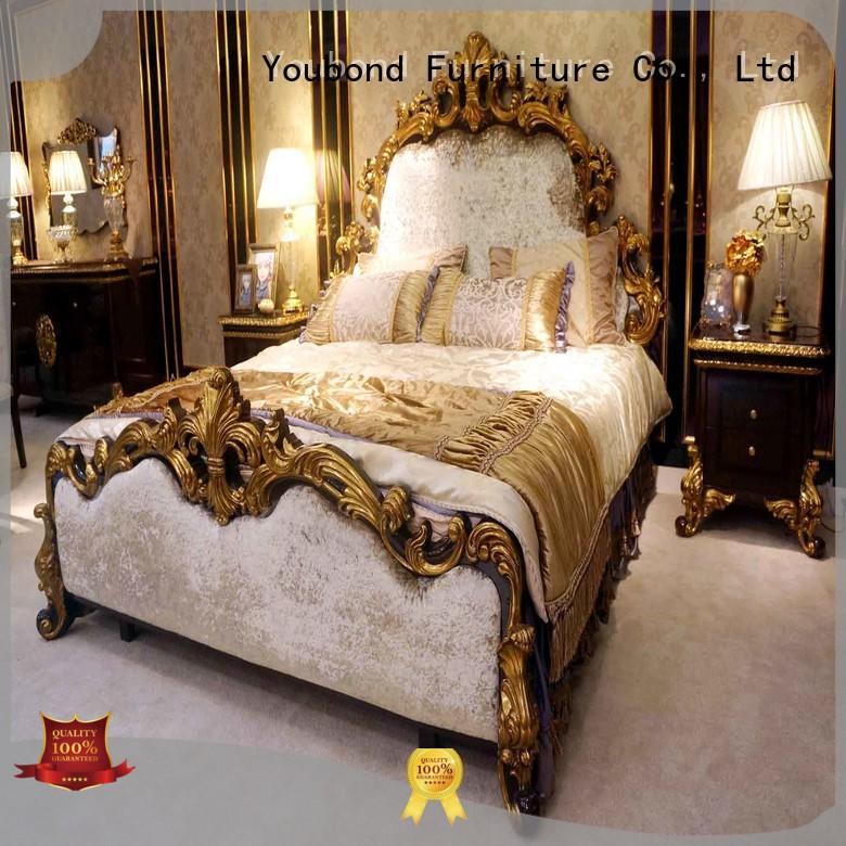 Senbetter Brand wood simple oak bedroom furniture design solid