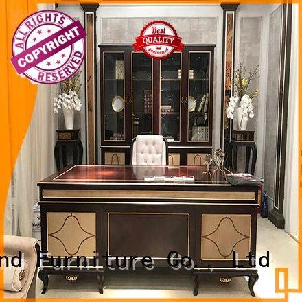 Custom carved classic office furniture royal desk furniture
