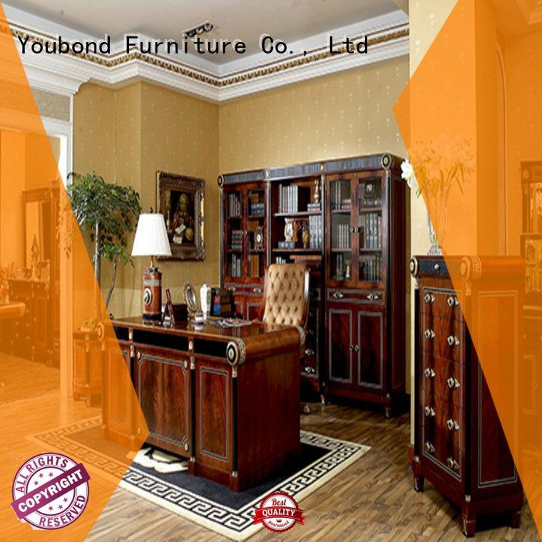 Custom classic office furniture solid french study Senbetter