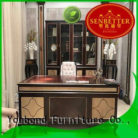 Senbetter Brand antique desk furniture veneer royal
